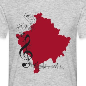 kosovo music - Men's T-Shirt