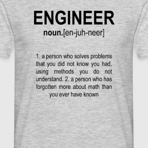 """Engineer"" Def. 2 Black - Men's T-Shirt"