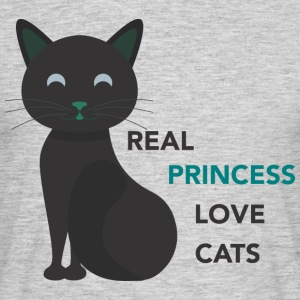 REAL LOVE PRINCESS CATS - T-shirt Homme