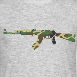 AK47 camouflage - T-shirt Homme