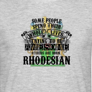 Rhodesian Awesome - Men's T-Shirt