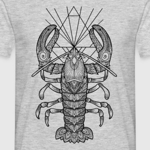 Geometric Lobster - Männer T-Shirt