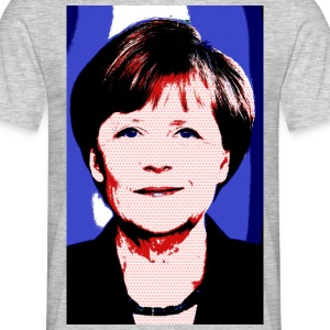 Merkel_bunt - Men's T-Shirt