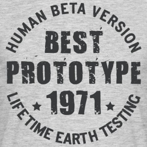 1971 - The year of birth of legendary prototypes - Men's T-Shirt