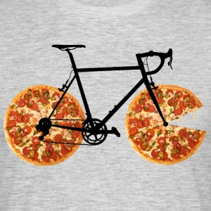 Pizza Bike - Mannen T-shirt