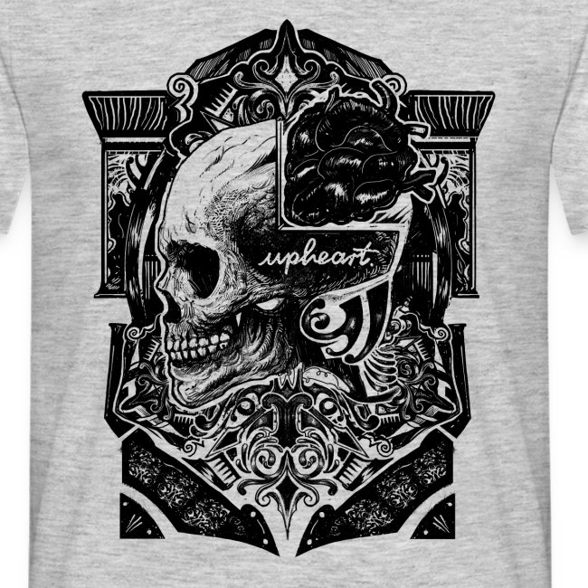 Skull and Heart