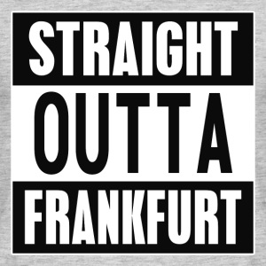 Straight outta Frankfurt - T-skjorte for menn
