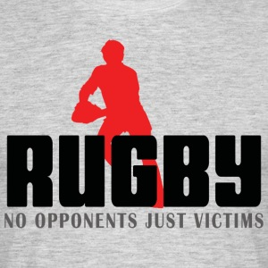 Rugby No Opponents Just Victims - Men's T-Shirt