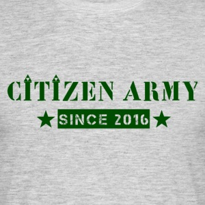 Citizen Tripad green - T-shirt herr