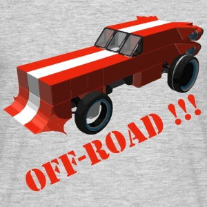 Off Road fan - Herre-T-shirt
