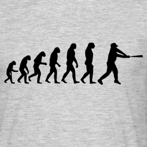 Baseball evolution - Männer T-Shirt