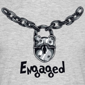 engagerad Chained - T-shirt herr