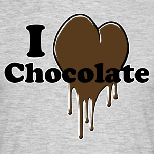 i_love_chocolate - T-shirt herr