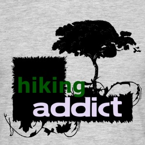 HIKING ADDICT - love for hiking - Men's T-Shirt