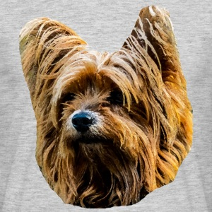 Yorkshire Terrier - T-shirt herr