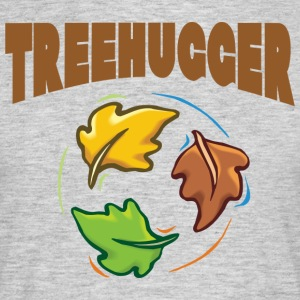 Earth Day TreeHugger - Mannen T-shirt