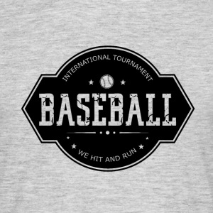 Baseball - Hit and Run - Männer T-Shirt