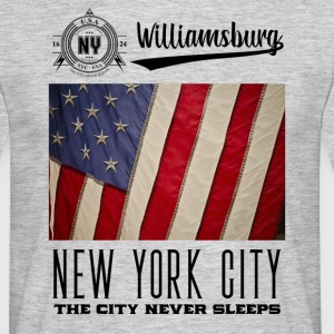 New York City · Williamsburg - Mannen T-shirt