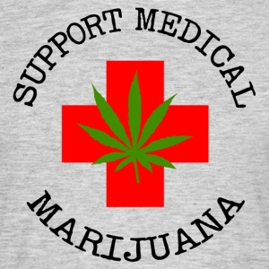 Medical Marijuana Support Legalize It - Men's T-Shirt