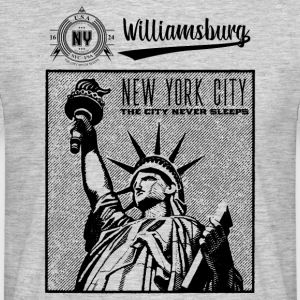 New York City · Williamsburg - Männer T-Shirt