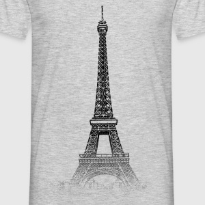 Around The World: Eiffel Tower - Paris - Mannen T-shirt