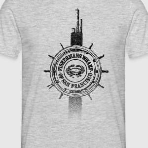 Around The World: Fisherman's Wharf - S. Francisco - Männer T-Shirt