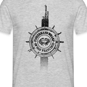 Around The World: Quai des Pêcheurs - S. Francisco - T-shirt Homme