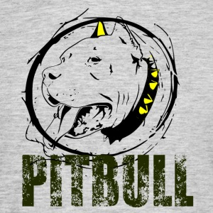 PITBULL - Love Dog - Mannen T-shirt