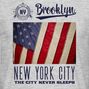 New York City · Brooklyn - Maglietta da uomo