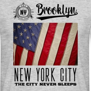 New York City · Brooklyn - Mannen T-shirt