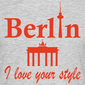 Berlin I love you - Mannen T-shirt