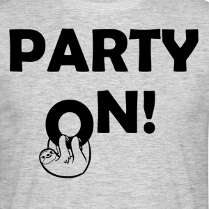 Party On paresse - T-shirt Homme