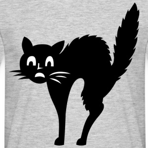 Cat Afraid - T-shirt Homme