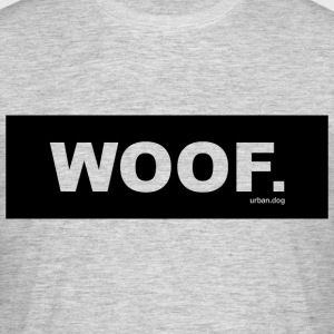 WOOF urban.dog Black - T-shirt herr