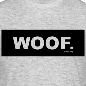 Woof urban.dog Svart - T-skjorte for menn