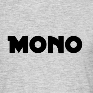 Mono in black - Men's T-Shirt