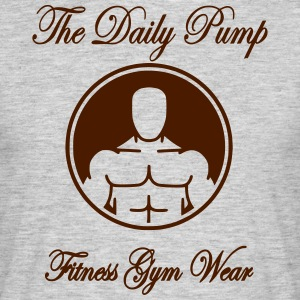 The Daily Pump Torso - Männer T-Shirt