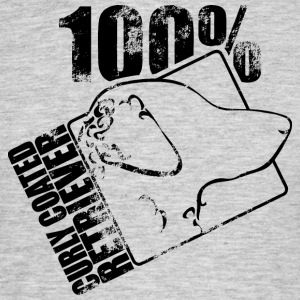 Curly coated retriever 100 - T-shirt herr