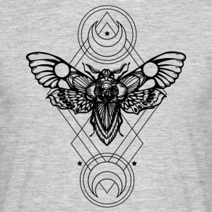 sacred geometry - Geometric -Sfinge dead head - Men's T-Shirt