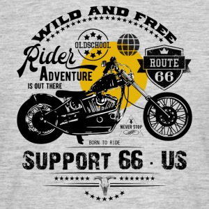 Rider · Support 66 - T-shirt herr