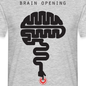 T-shirt-brain_file_stampa - T-shirt Homme