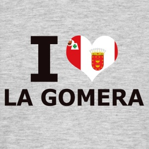 I LOVE LA GOMERA FLAG - Men's T-Shirt