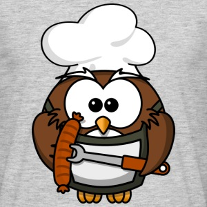 Boiling and roasting Master Owl - Men's T-Shirt
