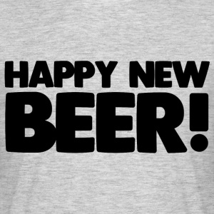 Happy New Beer! - T-shirt Homme