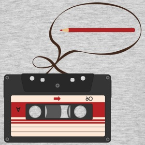 TAPE, BAND, PENCIL - Herre-T-shirt