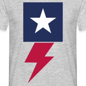 Flash American - Mannen T-shirt