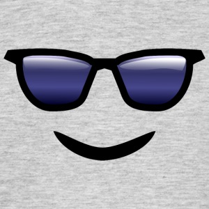 Sunglasses and smiling - Men's T-Shirt