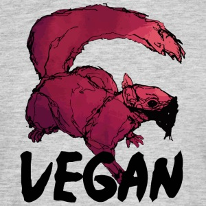 Vegan squirrel - Men's T-Shirt