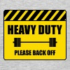 Attention, heavy - Men's T-Shirt