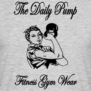 The Daily Pump - T-shirt herr